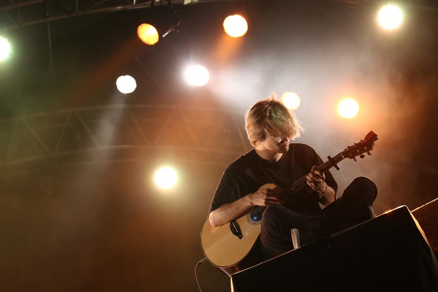 MOROHAのギタリストUK