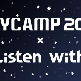 BAYCAMP2016 × Listen with 一緒に音楽を聴きながらチャットしよう!